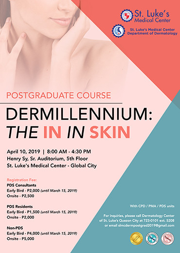 Postgraduate Course - Dermillennium: The In in Skin