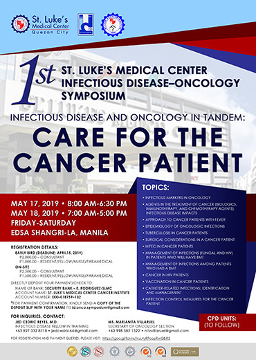 Infectious Diseases and Oncology in Tandem: Care for the Cancer Patient