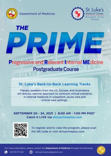 The Progressive and Relevant Internal Medicine (PRIME) Postgraduate Course