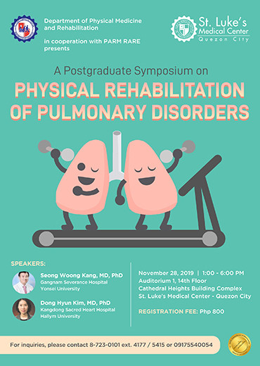 Physical Rehabilitation of Pulmonary Disorders: A postgraduate symposium