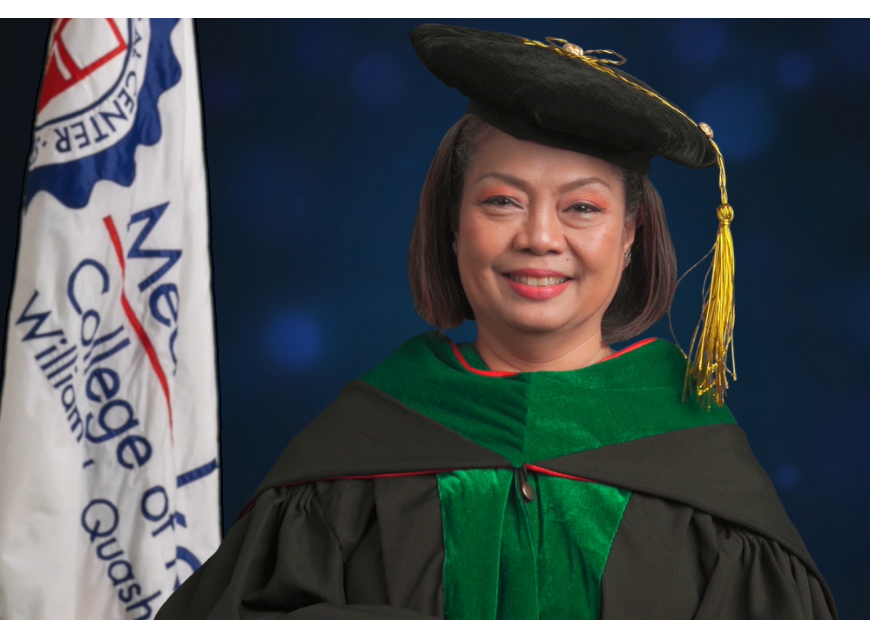 SLMCCM Dean Susan Nagtalon highlighted the value of continuous learning as she addressed the graduates of Class 2021.